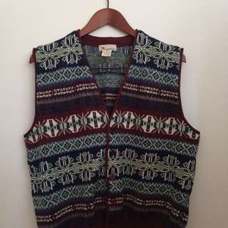 XMAS | Knitted Vest | Medium (oversized)