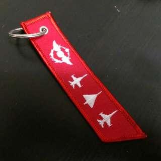 空軍風飛行前拆除飄帶飾品,電繡三大飛機