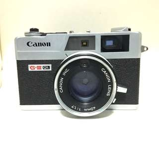Canon Canonet QL17 G-III Working