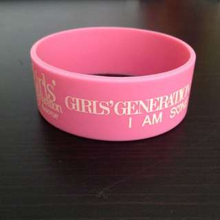 Large Girls Generation Wristband [FREE with Any Purchase]