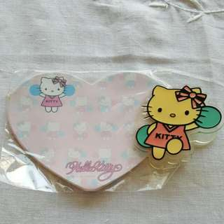 Hello Kitty Clip And Note Pad