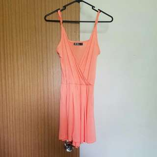 Chici Booti Peachy Orange Play suit