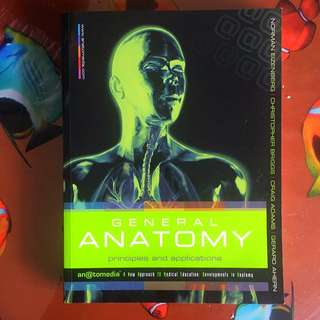 General Anatomy Textbook