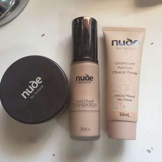 Nude By Nature, Makeup Trio