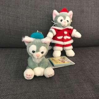東京直送 迪士尼畫家貓Disney Duffy Gelatoni 貓咪吊飾 手機掛飾 公仔