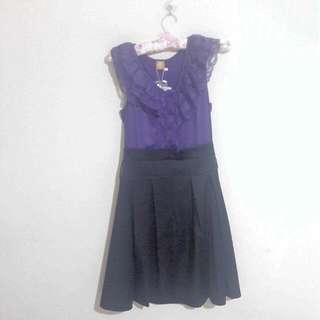 Dress Purpleblack Esye