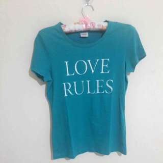 Kaos Esprit Love Rules
