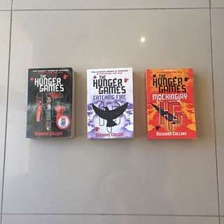 Hunger Games Trilogy -Suzanne Collins