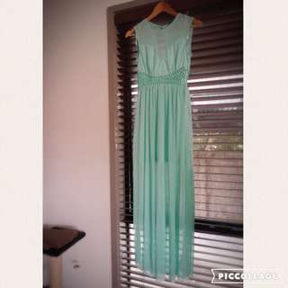 AX Paris Evening / Bridesmaid Maxi Dress Size 8