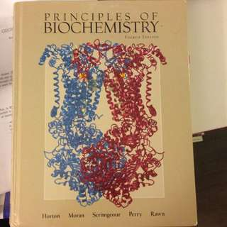 Principles Of Biochemistry By Horton 4th Ed