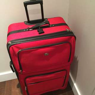 "Luggage 20""Hx12""Dx20W. Have 2 are the same."