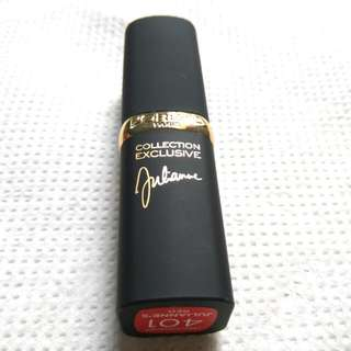 L'oreal Paris Lipstick Collection Exclusive - Julianne 401 Julianne's Red