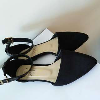 全新女裝OL平底鞋