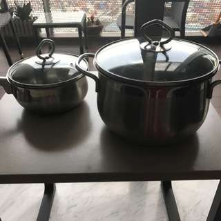 Big and Small Pot
