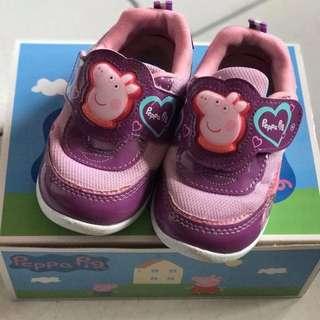粉紅豬女童運動鞋