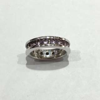 925 Silver Ring Set With Crystal