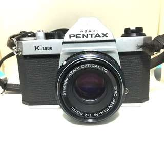 Pentax K1000 With 50mm F2 Lens Working