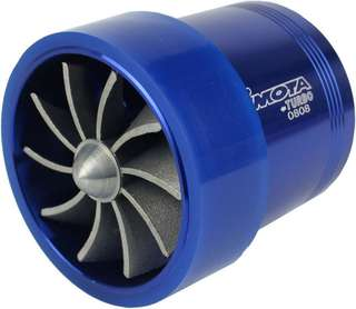 "SIMOTA 2.5"" Super Twin Fan Turbo Jet Universal for All Air Intake Pipe"