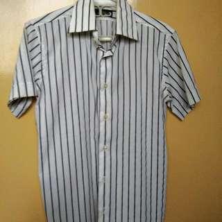 Zara Man Short Sleeve Polo