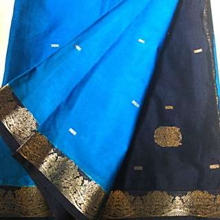 Beatiful Blue Saree To Let Go