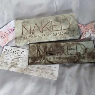NAKED Smoky Urban Decay Eyeshadow Palette AUTHENTIC