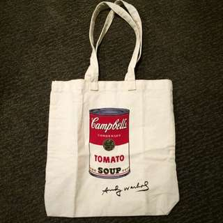 Andy Warhol Canvas Bag