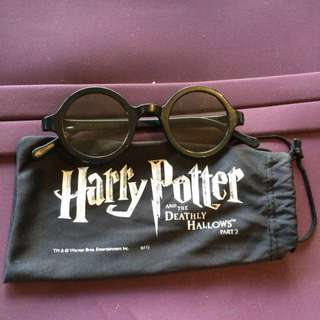 Limited Edition Collectors Happy Potter And The Deathly Hallows Part 2 3D Glasses