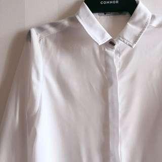 Temp White Blouse Size 8