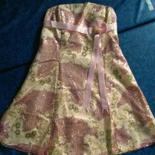 Reprice - Mini Dress Kemben