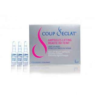 COUP D'ECLAT Ampoules Lifting Beaute DU Teint 強力收緊毛孔精華 (12 ampoules x 1ml) 全新 保證 正貨