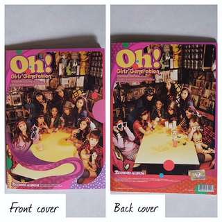 Girl's Generation 소녀시대 SNSD - 2nd Album: Oh!