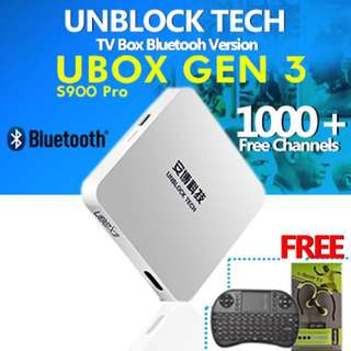 (Almost Brand New) UBOX From Unblock Tech