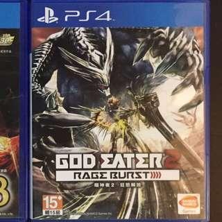 放售PS4 遊戲