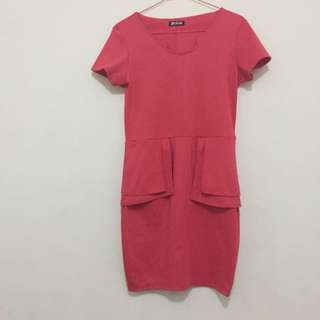 Peplum Dress