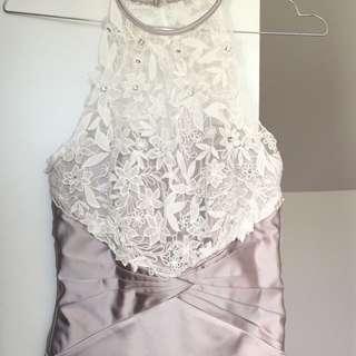 Coast Silk & Lace Dress UK 6