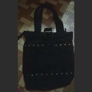 Tote Bag With Buckle