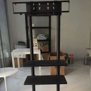 Movable TV Stand For Business Or Home