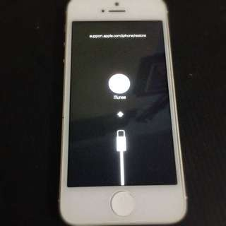 iphone 5 32gb stuck logo itune