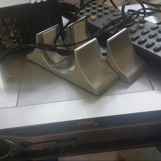 NOW TV 寬頻電視 YX-5218A 解碼器 機頂盒 連 原裝 火牛及 搖控 適合 PCCW 網上行