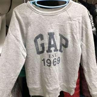 Gap 灰色大學t