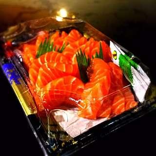 新鮮三文魚刺身(半磅)