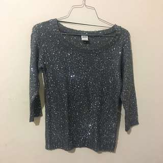 Shimmery Top