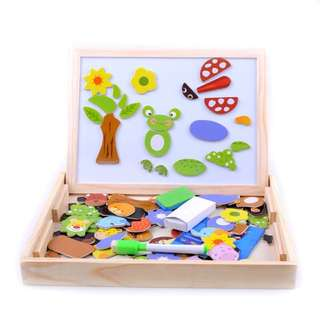 Creative Magnetic Box Up White Board With Animals