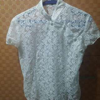 REPRICED!Chinese Collared Blouse