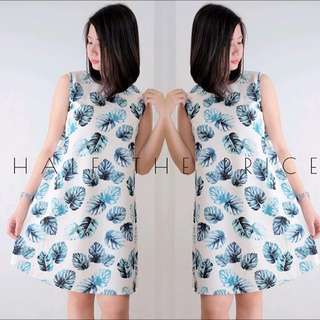 HTP Feather Sleveless Dress