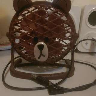 熊大電風扇