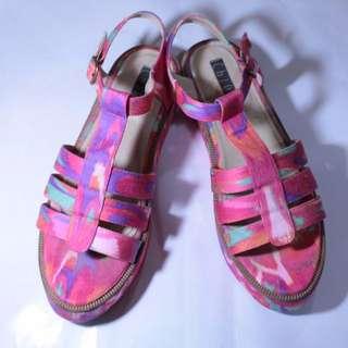 Chiel Shoes Candy Cola Platform
