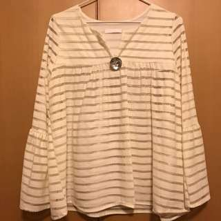 Motel Beige Colour Top