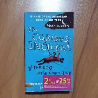 《!WACKY AUCTION¡》The Curious Incident of The Dog In The Night- Time By Mark Haddon (2003)