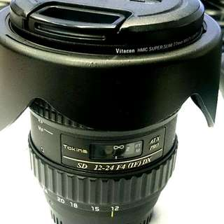 Tokina AT-X Pro SD 12-24mm F4 (IF) DX for Nikon
